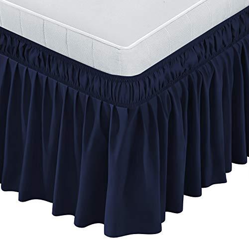 BIGTONE Bed Skirt Wrap Around Elast…