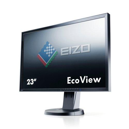 EIZO FlexScan 23インチカラー液晶モニター 1920x1080 DVI-D 24Pin DisplayPort D-sub 15Pin ブラック FlexScan EV2336W EV2336W-FSBK