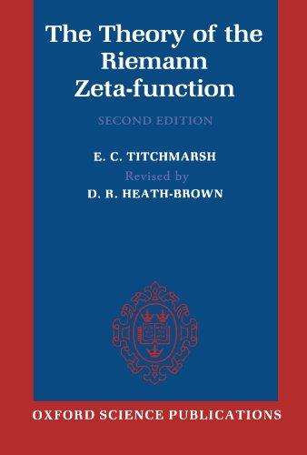 The Theory of the Riemann Zeta-Function (Oxford Science Publications)