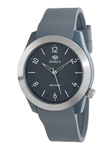 Uhr Marea Analog Herren B35293/5 Armband Kautschuk Grau