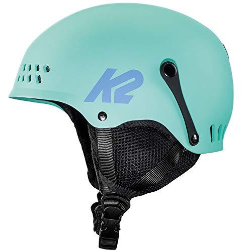 K2 Skis Dames ENTITY seafoam skihelm, groen, S