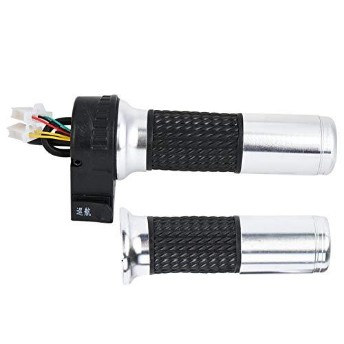 Manillares de acelerador de bicicleta eléctrica fáciles de instalar 1 par de(Cruise control)