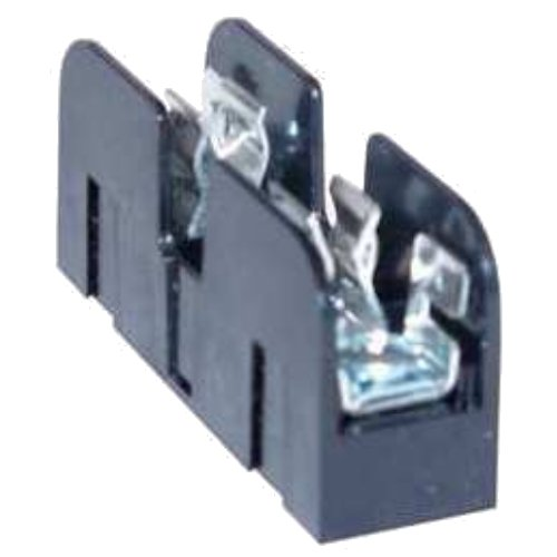 Mersen 61006SJ Class J Spring Reinforced Fuse Block with Box Side Clip Connector, 2/0-#6 Al/Cu Wire Size, 100 Ampere, 1 Pole