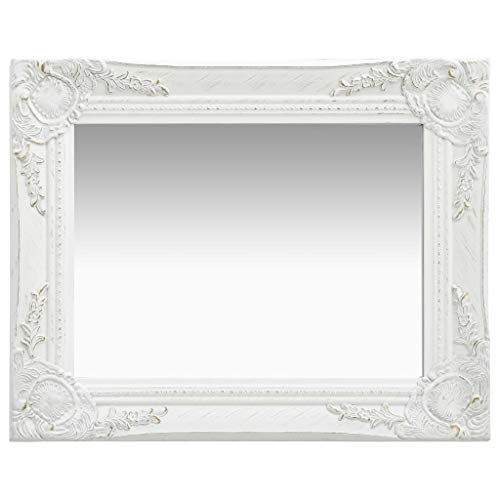 Espejos Decorativos De Pared Blanco espejos decorativos  Marca vidaXL