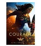 JCYMC Póster De Wonder Woman para Decoración De Sala De Estar con Imagen De Hogar Fd358Sz 40X60Cm...