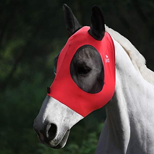 Harrison Howard fliegenmaske stretch pferde fliegenmaske Weiches Netz mit Ohr