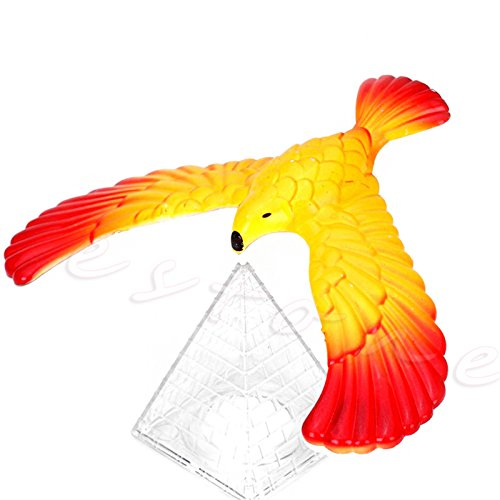 Abicial Magic Balancing Bird Science Desk Toy w/Base Novelty Eagle Fun Learn Gag Gift