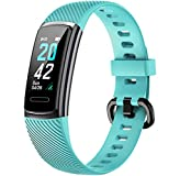 Delvfire Arcturus <span class='highlight'><span class='highlight'>Fitness</span></span> Tracker, Heart Rate, Waterproof, Step Counter, Sleep Monitor, Calorie Counter, Alarms, Multi-Sport Mode, Colour Screen, Call Message Notifications (Green)