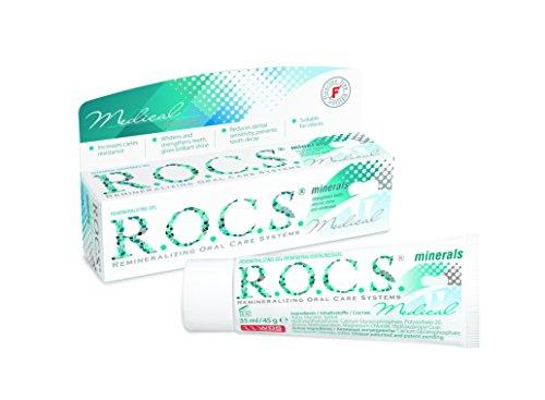 R.O.C.S. - Remineralisierungsgel Gel zur Stärkung der Zähne mit Calcium, Phosphor & Magnesium - 40 ml