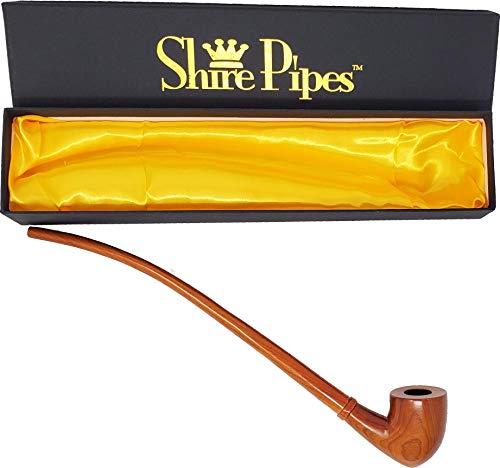 "Shire Pipe Churchwarden Tomahawk - 13"" / Cherry"