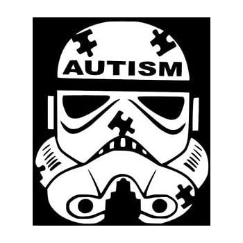 "5/"" AUTISM SPEAKS v1 Vinyl Decal Sticker Car Window Laptop Charity Awareness"