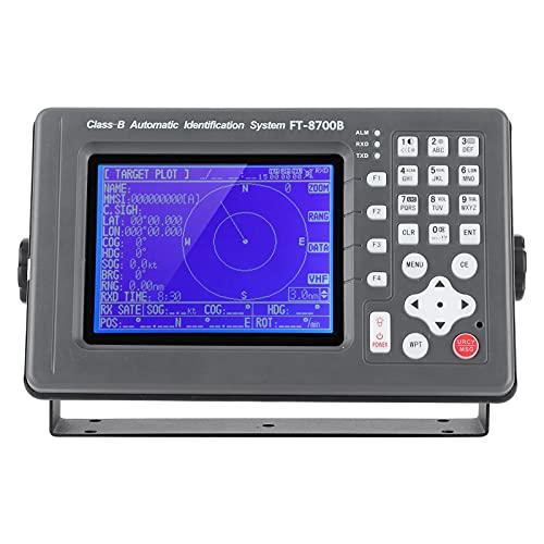GPS Cartografico da 6 Pollici, Navigatore Marino, Sistema di Identificazione Automatica Navigatore Satellitare, Strumento Anticollisione, Attrezzatura AIS per Barche, Display di Navigazione per Navi