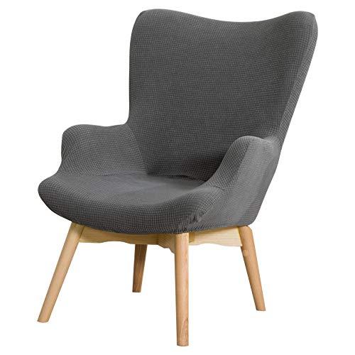 papasgix Sesselschoner Überzug Sesselbezug Stuhlhussen Sessel-Überwürfe onhe Armlehnen Stretch Sesselhusse für Cafe Wohnzimmer Sessel