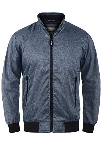 Blend Nelson Herren Softshell Jacke Funktionsjacke Übergangsjacke, Größe:L, Farbe:Navy (70230)