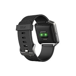 Fitbit Blaze Smart Fitness Watch, Black, Silver, Small (5.5 - 6.7 inch) (US Version)