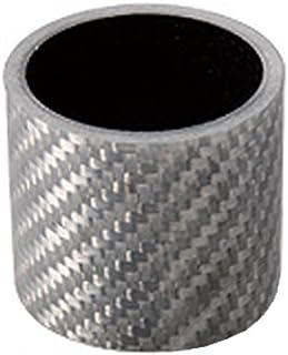 CYCLE PRO(サイクルプロ) カーボンコラムスペーサー アヘッドステム用 1-1/8インチ径/28.6mm(オーバーサイズ) 30mm ホワイト CP-HS30WC-OV