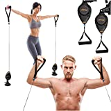 RAF Fitness Resistance Training | Gym Exercise Portable Full Body Workout Indoor Lightweight Kit Build Improve Cardio Durability Trainer Men Women Weight Pulleys Biceps Triceps