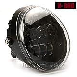 Negro V varilla VRSCA LED faro principal V-Rod Muscle faro Daymake VRSCF LED FARO DELANTERO