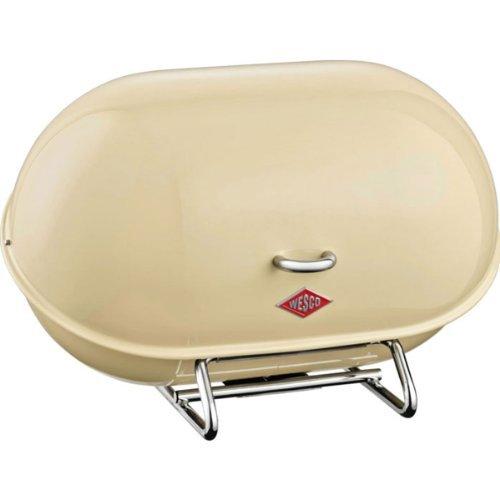 Wesco 222101-23Single Breadboy Bread Bin Almond-Coloured by Wesco