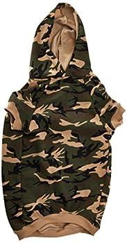 Casual Canine Sweat à Capuche Camouflage pour Chien, 50,8 cm, XL, Vert