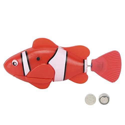 Juguete del Gato, pez eléctrico del Agua de inducción del Juguete de los Pescados del Gato, Lindo para los Perros(Red)