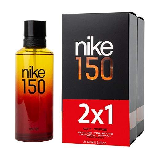 Nike - On Fire para Hombre, Eau de Toilette, 150 ml, Promoción 2x1