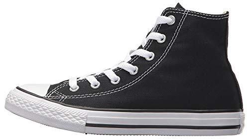 Converse Unisex-Kinder Chuck Taylor All Star Hi Sneaker, Schwarz (Black), 28 EU