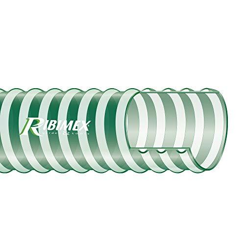 """Ribimex PRTAN385 Tubo anellato Diametro 38 mm Lunghezza 5 m, Verde, Ø 38 (1""""1/2)"""