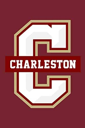 """College of Charleston Cougars Notebook: Minimalist Composition Book 