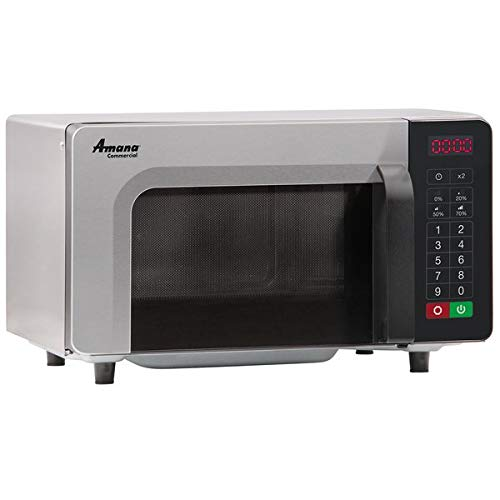 Amana RMS10TS Commercial Microwave Oven, 1000 Watts, Low Volume, Sta
