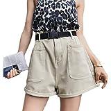 Pantalones Cortos de Mezclilla para Mujer Verano nuevos Pantalones Cortos de Mezclilla Opcionales Multicolores de Cintura Alta Pantalones Vaqueros Anchos Delgados Casuales XL