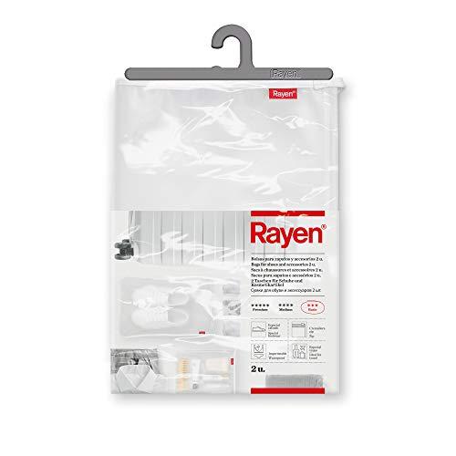 Rayen - Sacchetti per Scarpe e Accessori 2 u, Traslucido, Dimensioni: 41 x 28 cm