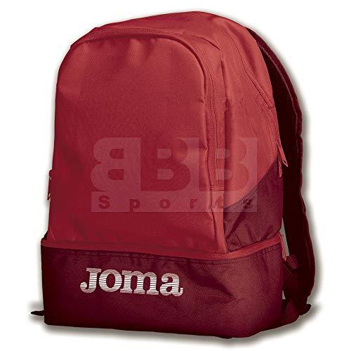 Joma Bags Mochila Estadio III Rojo, Sin género, 0