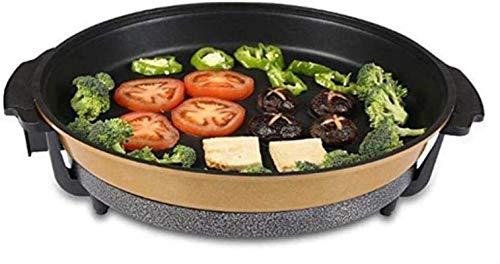 Parrilla eléctrica portátil, 2000W Electric Teppanyaki Tabla Top Parrilla Grill BBQ BBQ...