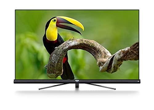 TCL 65DC762 Smart TV de 65 Pulgadas con UHD 4K, HDR, Wide Color Gamut, Android TV y JBL de Harman Kardon, Acabado en Titanio Cepillado string