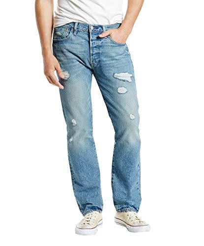 Levi's 501 Original Fit Jeans, Torn Up Destruction, 32W / 29L Uomo