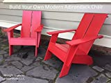 Build Your Own Modern Adirondack Chair: Digital Woodworking Plans and Instructions