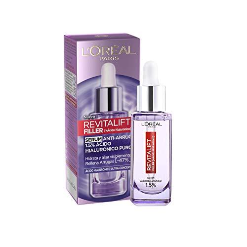 L'Oréal Paris Hyaluron Serum, Revitalift Filler, Anti-Ageing Face Care,...