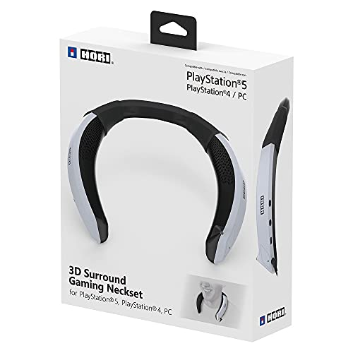Hori PlayStation 5 3D Surround Gaming Neckset - Wearable Speaker for PS5, PS4, PC - PlayStation 5