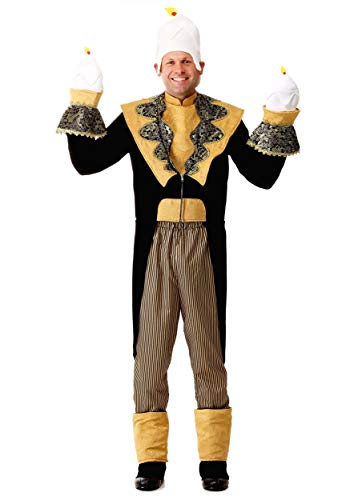Fun Costumes Adult Candlestick Costume X-Large Brown