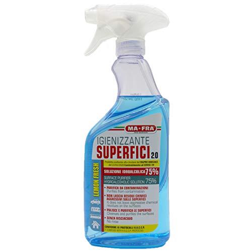 Igienizzante Superfici 2.0 Alcolico 500ml Ma-Fra
