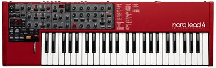 Nord Lead 4 49-Key Performance Synthesizer with 2-Oscillator Virtual Analog Sound Engine (NL4)