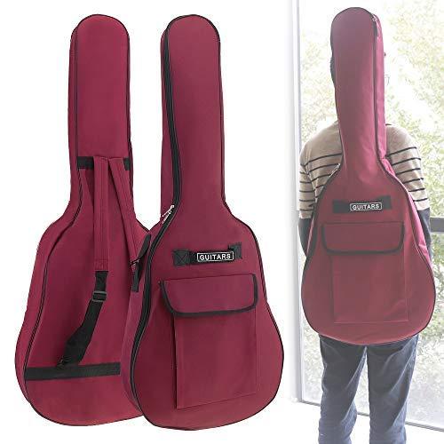 Origlam 40/41 Zoll Akustikgitarre Gigbag Wasserdicht Gitarrentasche Weiche Gitarre Rucksack Gepolsterter Dual Schultergurt Weiche Tasche Cover Verstellbare Tasche für Akustische Klassische Gitarre