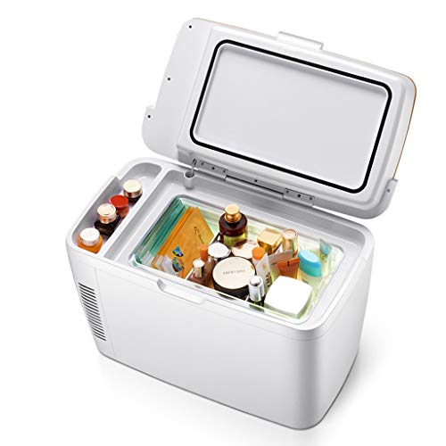 Mysida Car Refrigerators 12L draagbare autokoelkast, mini-koelkast, kleine koelkast, elektronische koel-/warmer, digitale temperatuurregeling, cosmetica-koelkast, 12 V/220 V