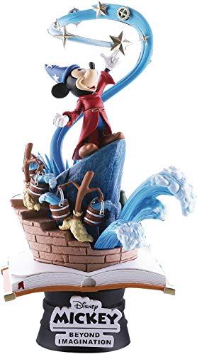 Beast Kingdom Disney Mickey Diorama El Aprendiz de Brujo, Multicolor (DS-018)