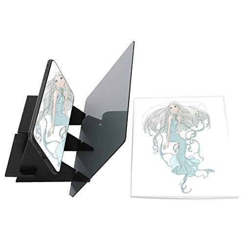 Espejo Tableta de dibujo Tablero de trazado de dibujo Reflexión Tablero de dibujo Tablero de dibujo Animación Tablero de copia Molde de dibujo para el arte Artesanía Industria de la animación