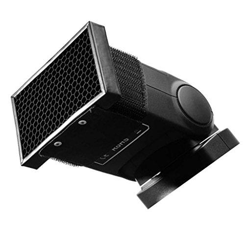 ハニカムグリッド カメラフラッシュ アタッチメント アクセサリー プラスチック製
