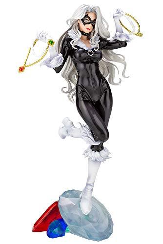 Kotobukiya Marvel Black CAT Steals Your Heart BISHOUJO Statue image