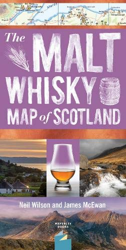 Malt Whisky Map of Scotland