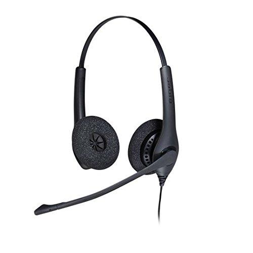 Jabra BIZ 1500 Duo QD professionelles, robustes Einstiegs-Headset mit Kabel für Call-Center, für Festnetztelefonie